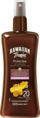 Hawaiian Tropic Protezione Olio solare Protective Dry Spray Oil Coconut & Guava Spf 20 200ml